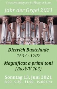 """Dietrich Buxtehude """"Magnificat a primi toni"""" BuxWV 203"""