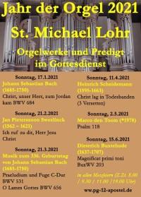 Jahr der Orgel in St. Michael