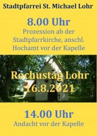 Rochustag in Lohr