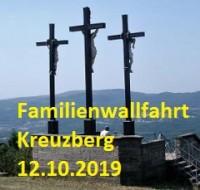 Familienwallfahrt auf den Kreuzberg