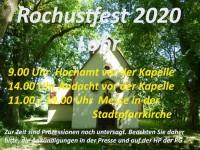 Rochusfest 2020